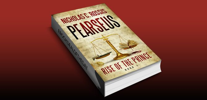 scifi & fantasy ebook Pearseus, Rise of the Prince, book 1 by Nicholas C. Rossis