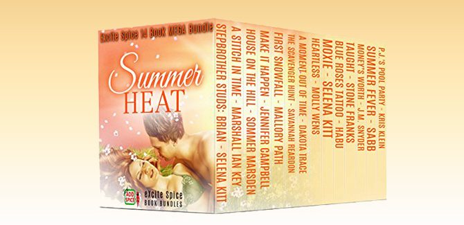 romance boxed set Summer Heat: 14 Book MEGA Bundle by Selena Kitt + Many More