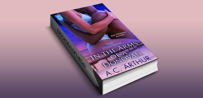 African-American romantic suspense ebook In the Arms of a Donovan by AC Arthur,