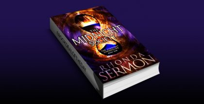 "a timetravel fantasy ebook ""The Midnight Society (The Midnight Chronicles Book 1)"" by Rhonda Sermon"