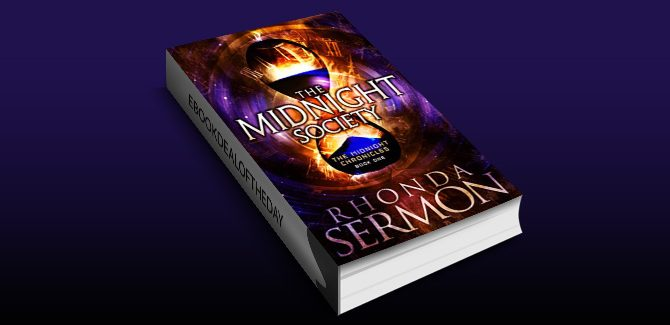 a timetravel fantasy ebook The Midnight Society (The Midnight Chronicles Book 1) by Rhonda Sermon