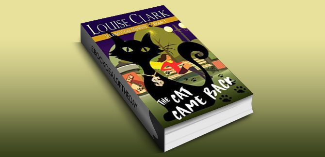 cozy mystery ebook The Cat Came Back (The 9 Lives Cozy Mystery Series, Book 1) by Louise Clark