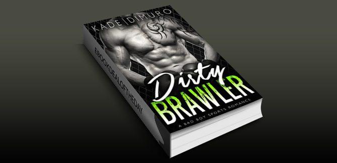 new adult romance ebook Dirty Brawler: A Bad Boy Sports Romance by August Dimuro & Teagan Kade