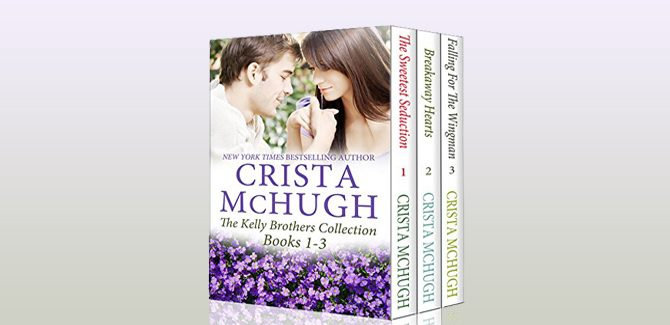contemporary romance ebooks The Kelly Brothers, Books 1-3 by Crista McHugh