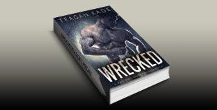 "sports contemporary romance ebook ""Wrecked: A Bad Boy Outlaw Romance (with bonus novel!)"" by Teagan Kade"