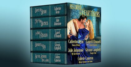 "medieval historical regency romance ebook ""Historical Heartthrobs"" by Laurel O'Donnell, Catherine Kean, Julie Johnstone, Glynnis Campbell, Collette Cameron"