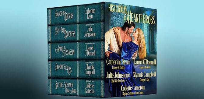 medieval historical regency romance ebook Historical Heartthrobs by Laurel O'Donnell, Catherine Kean, Julie Johnstone, Glynnis Campbell, Collette Cameron