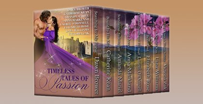 "historical medieval romance boxed set ""Timeless Tales of Passion"" by Various Authors"