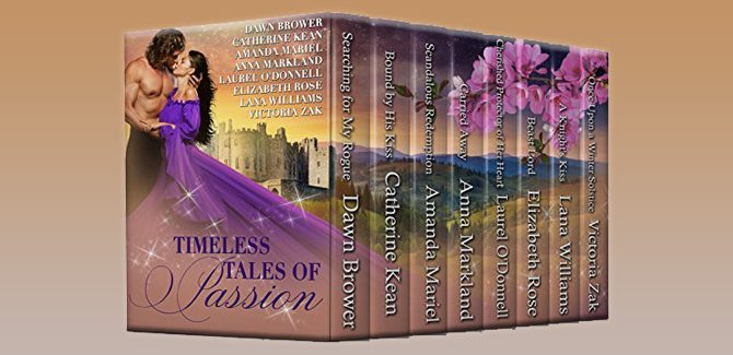 historical medieval romance boxed set Timeless Tales of Passion by Various Authors