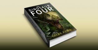 "scifi action & adventure ebook ""The Dinosaur Four"" by Geoff Jones"