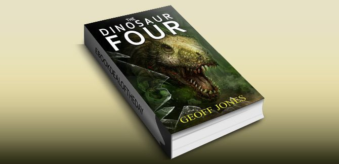 scifi action & adventure ebook The Dinosaur Four by Geoff Jones