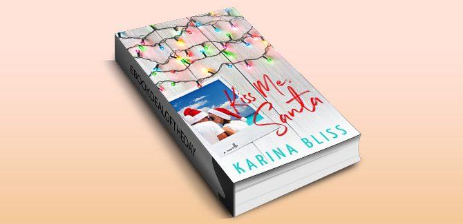 holiday romance ebook Kiss Me, Santa by Karina Bliss