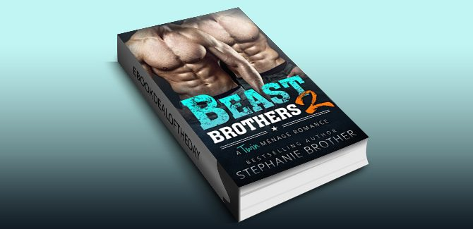 menage romantic suspense ebook Beast Brothers 2: An MFM Twin Ménage Romance by Stephanie Brother