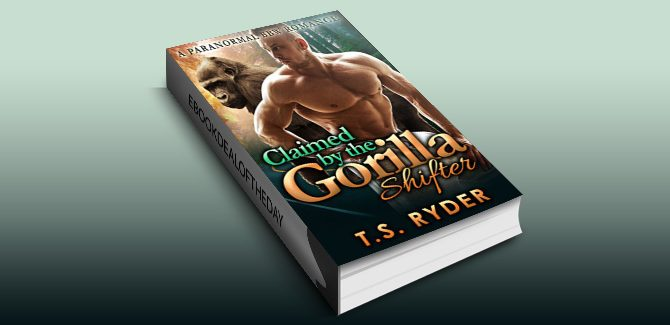 paranormal romance ebook Claimed by the Gorilla Shifter (BBW Alpha Billionaire Action Romance) by T. S. Ryder