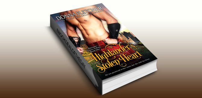 istorical Scottish romance ebook The Highlander's Stolen Heart 1 by Donna Fletcher