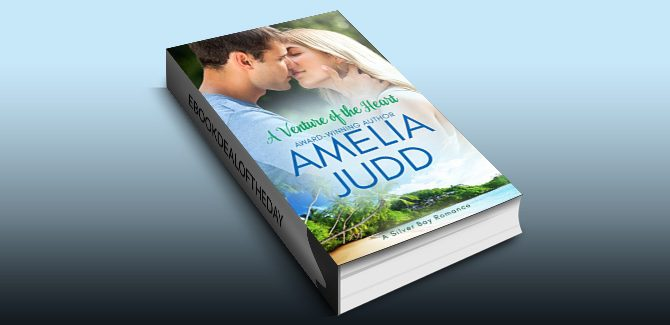contemporary romantic comedy ebook A Venture of the Heart (Silver Bay Book 1) by Amelia Judd