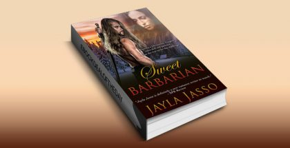 "timetravel historical romance ""Sweet Barbarian"" by Jayla Jasso"