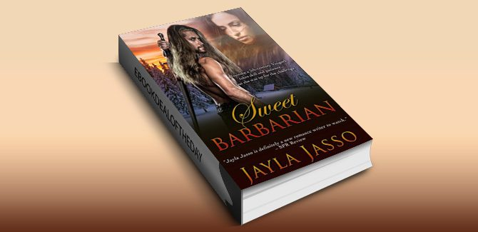 timetravel historical romance Sweet Barbarian by Jayla Jasso