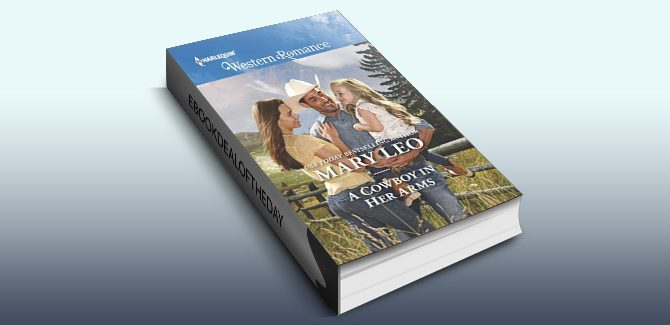 western romance ebook A Cowboy in Her Arms (Harlequin Western Romance) by Mary Leo