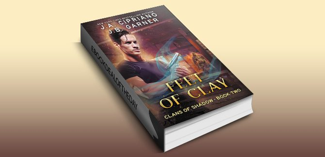 an urban fantasy ebook Feet of Clay: An Urban Fantasy Novel (Clans of Shadow Book 2) by J.A. Cipriano