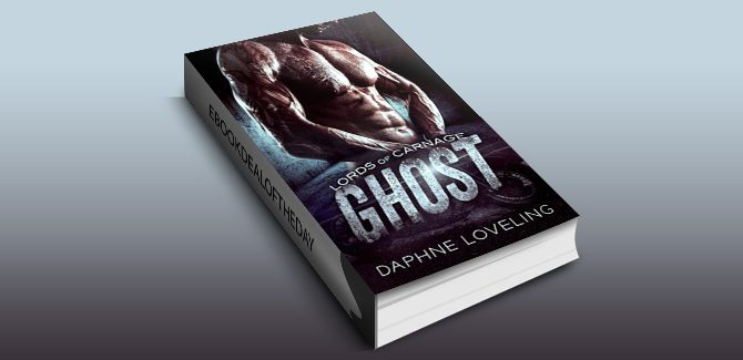 new adult contemporary romance ebook GHOST (Lords of Carnage MC) by Daphne Loveling
