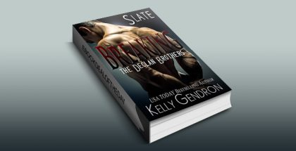 "contemporary romance ebook ""SLATE (Breaking the Declan Brothers, #2)"", by Kelly Gendron"