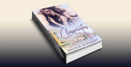 "LGBT romance ebook ""Classmates: MMF Bisexual Romance"" by Nicole Stewart"