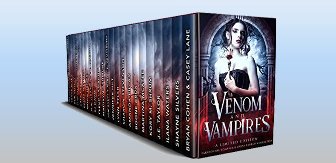 boxed set Venom & Vampires: A Limited Edition Paranormal Romance and Urban Fantasy Collection by Multiple Authors