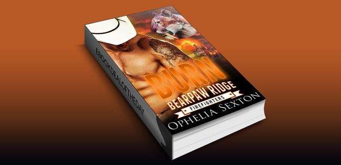paranormal romance ebook Burn (Bearpaw Ridge Firefighters Book 5) by Ophelia Sexton
