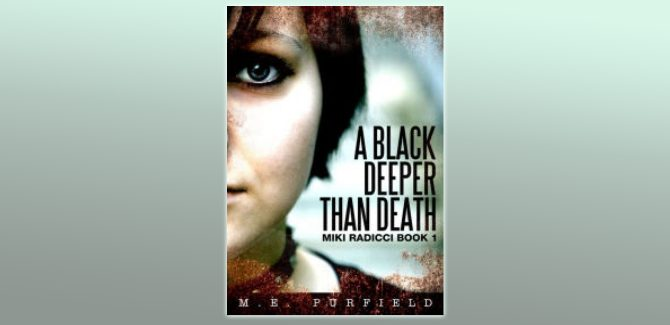 mystery young adult ebook A Black Deeper Than Death #1 by M.E. Purfield