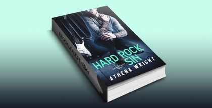 "contemporary romance ebook ""Hard Rock Sin: A Rock Star Romance"" by Athena Wright"