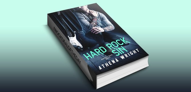 contemporary romance ebook Hard Rock Sin: A Rock Star Romance by Athena Wright
