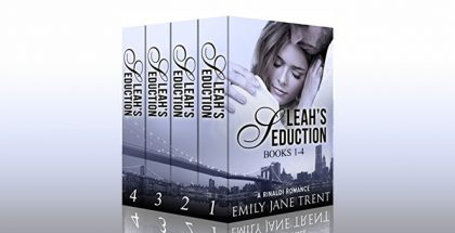 "new adult romance boxed set""Leah's Seduction (Books 1-4) (Gianni and Leah)"" by Emily Jane Trent"
