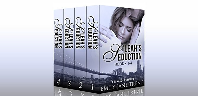 new adult romance boxed setLeah's Seduction (Books 1-4) (Gianni and Leah) by Emily Jane Trent