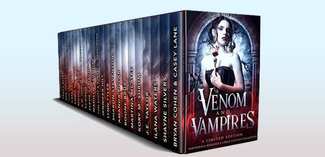 paranormal urban fantasy boxed set Venom & Vampires by USAT and NYT Best Selling Authors