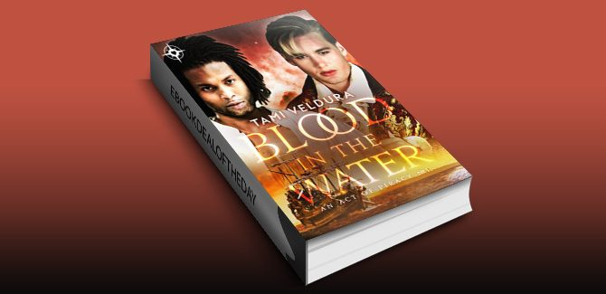 gay paranormal romance ebook Blood In The Water (An Act of Piracy Book 1) by Tami Veldura