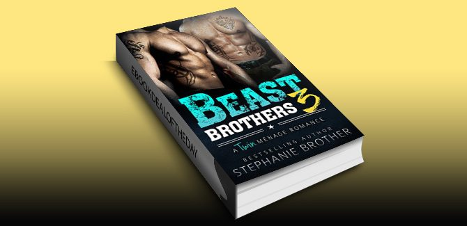 contemporary romance ebook Beast Brothers 3: An MFM Twin Ménage Romance by Stephanie Brother