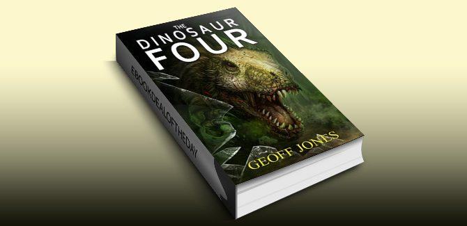 scifi action & adventure ebook The Dinosaur Four by Geoff Jones