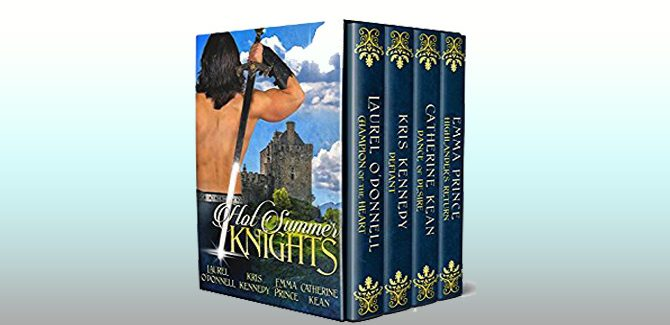 historical romance boxed set Hot Summer Knights by Catherine Kean, + more!