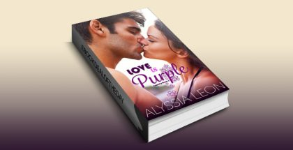 "contemporary romance ebook ""Love is Purple (Appleby Book 3)"" by Alyssia Leon"