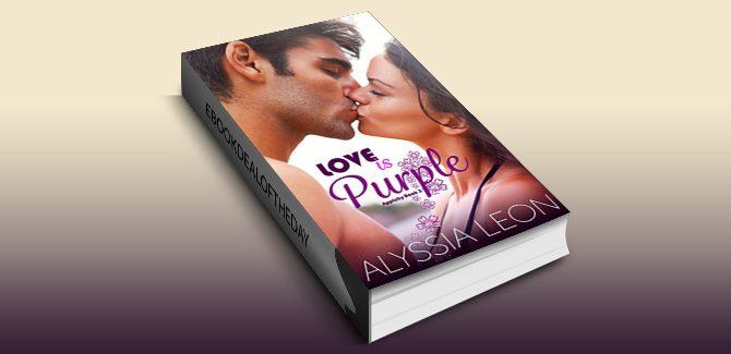 contemporary romance ebook Love is Purple (Appleby Book 3) by Alyssia Leon