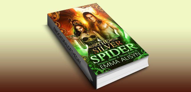 The Silver Spider: A Dragon Shifter Urban Fantasy Steampunk Romance (Dragon, Stone & Steam Book 2) by Emma Alisyn