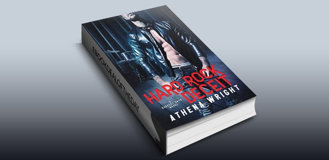 new adult romance ebook Hard Rock Deceit: A Rock Star Romance by Athena Wright