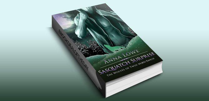 paranormal romance ebook Sasquatch Surprise by Anna Lowe