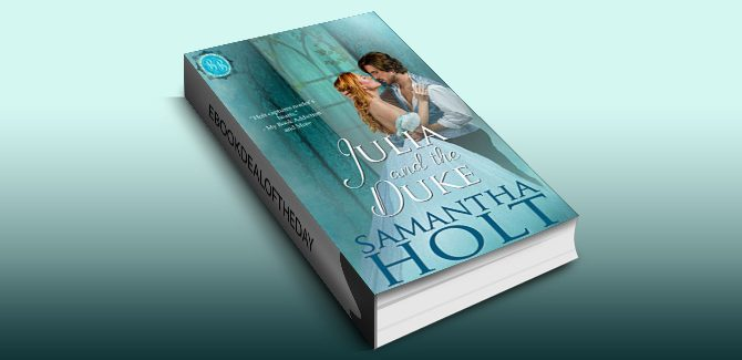 historical romance ebook Julia and the Duke (Bluestocking Brides Book 2) by Samantha Holt