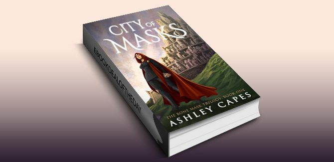an epic fantasy novel City of Masks by Ashley Capes