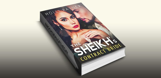 romance ebook The Sheikh's Contract Bride by Holly Rayner