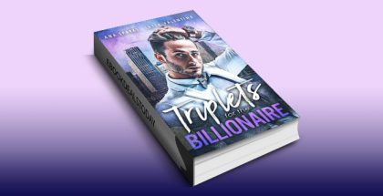 "romance ebook ""Triplets For The Billionaire"" by Ana Sparks"