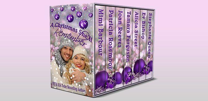 A Christmas She'll Remember by Mimi Barbour, Patricia Rosemoor, Patricia Rosemoor, Tamara Ferguson, Tamara Ferguson, Ev Bishop, & Stephanie Queen