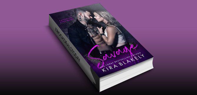 Savage: A Bad Boy Fake Fiancé Romance by Kira Blakely